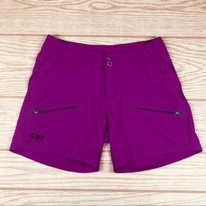 OUTDOOR RESEARCH Pink Contour Hiking Shorts